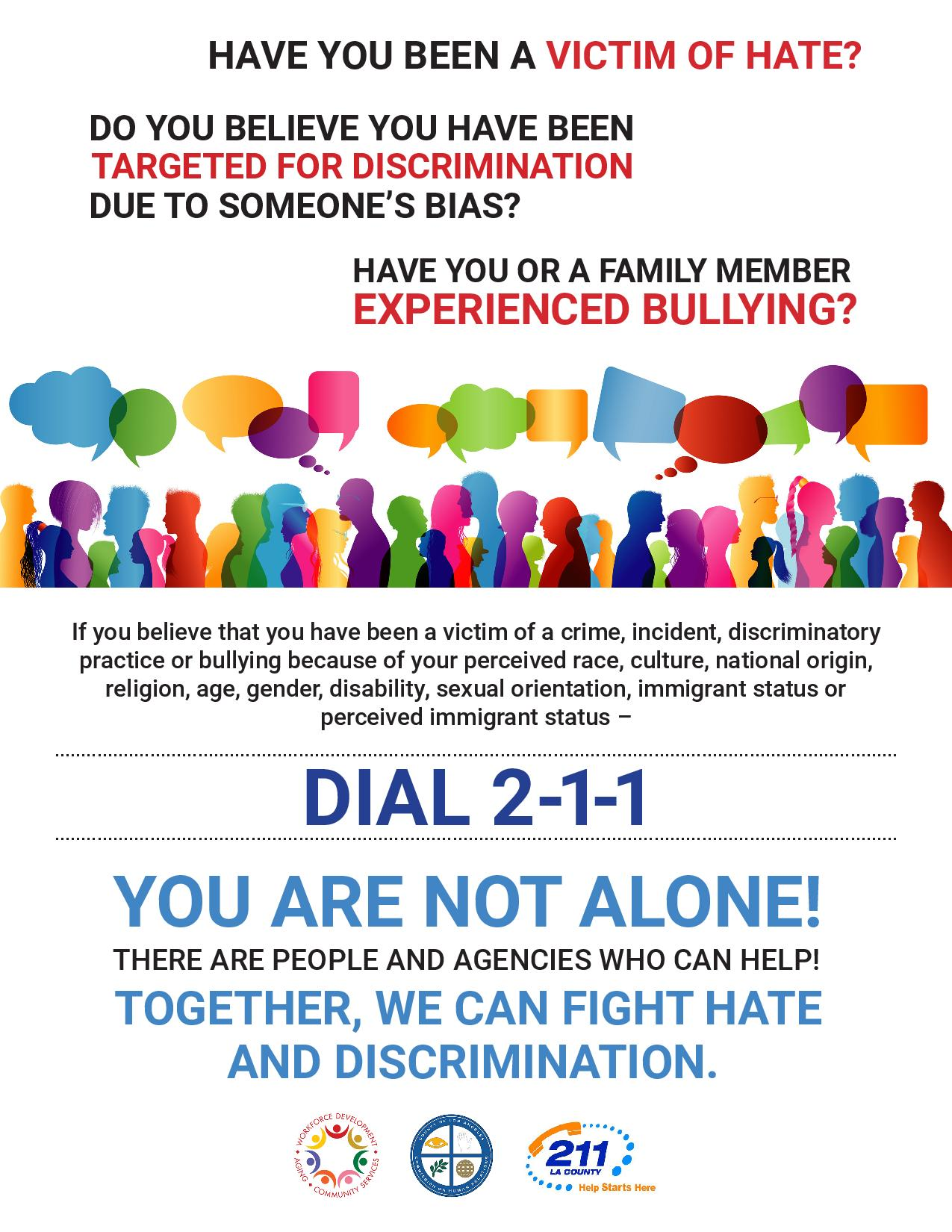 report hate image in flyer