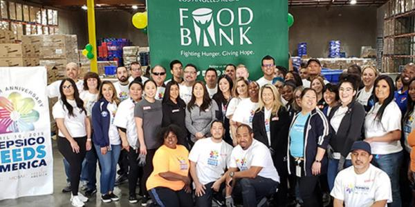 LA Food Bank Staff